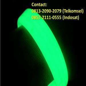 Jual Gelang Karet Glow In The Dark 01