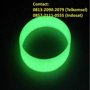 Jual Gelang Karet Glow In The Dark 02