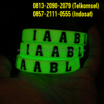 Jual Gelang Karet Glow In The Dark | 0813-2090-2079 | Jual Gelang Karet Custom Murah