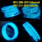 Jual Gelang Karet Glow In The Dark | 0813-2090-2079 | Jual Gelang Karet Glow Custom