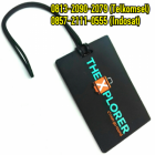 Jual Luggage Tag Karet | 0813-2090-2079 | Jual Bag Tag Custom