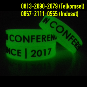 Jual Gelang Glow In The dark 01