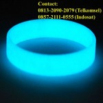 Jual Gelang Karet Glow In The Dark   0813-2090-2079   Bikin Gelang Karet Fosfor